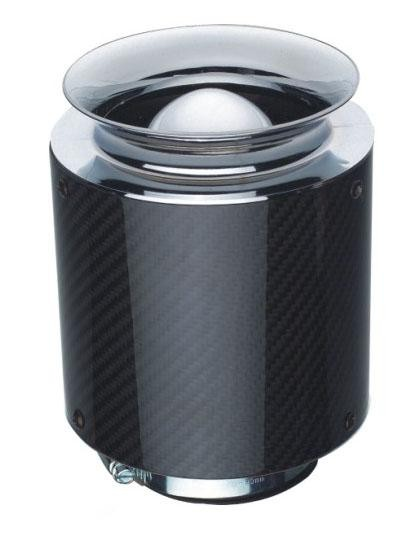 Carbon Fiber Racing Engine Air Filters With Height 125mm 155mm 175mm